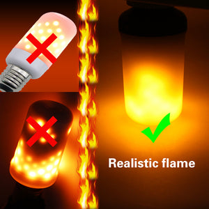 Flame Effect Fire Light Bulb