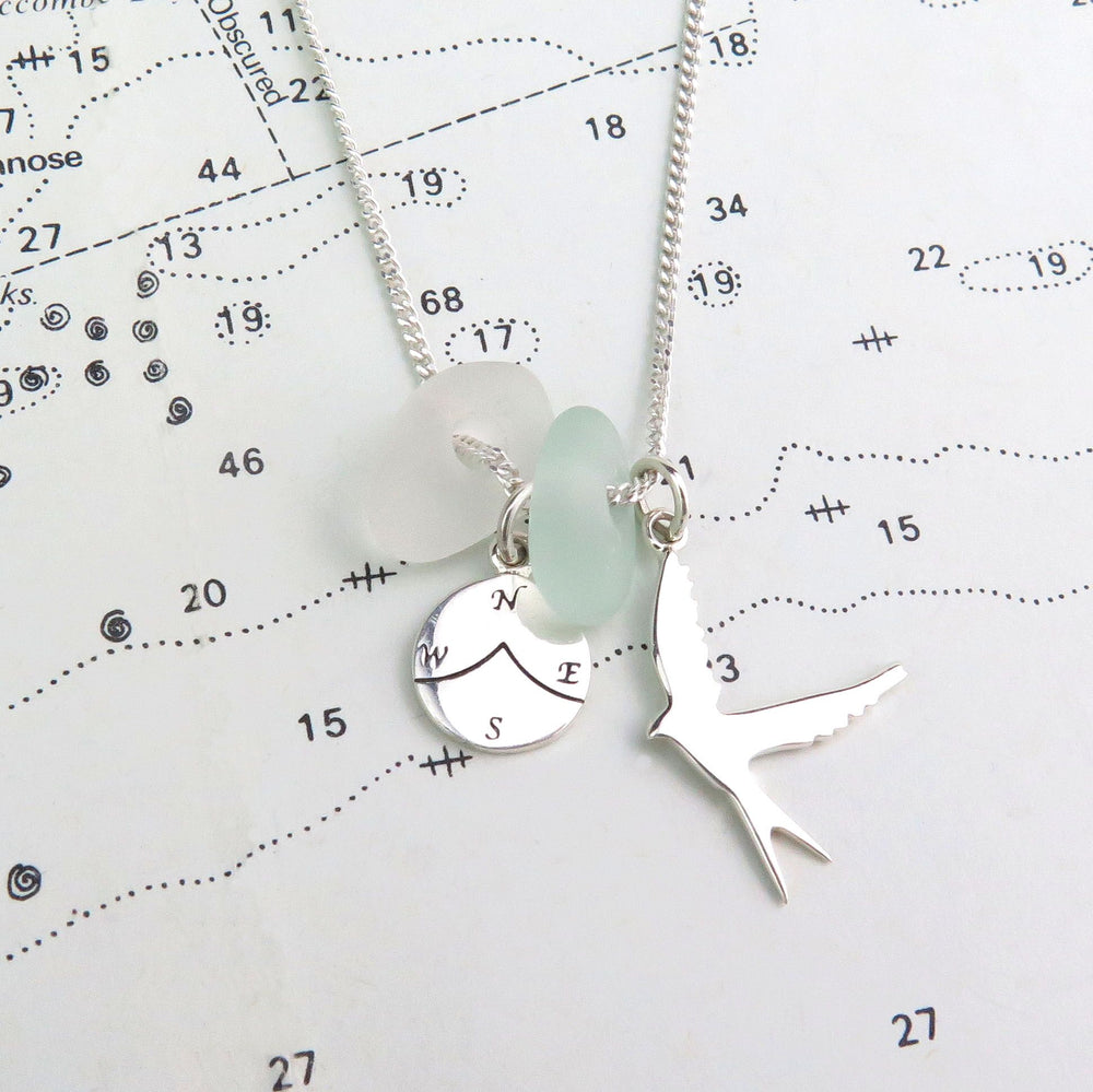 Fly Away With Me necklace by Spindrift