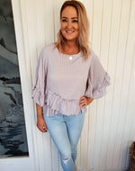 Blanch Blouse- Grey