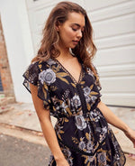 Flora Ruffle Dress
