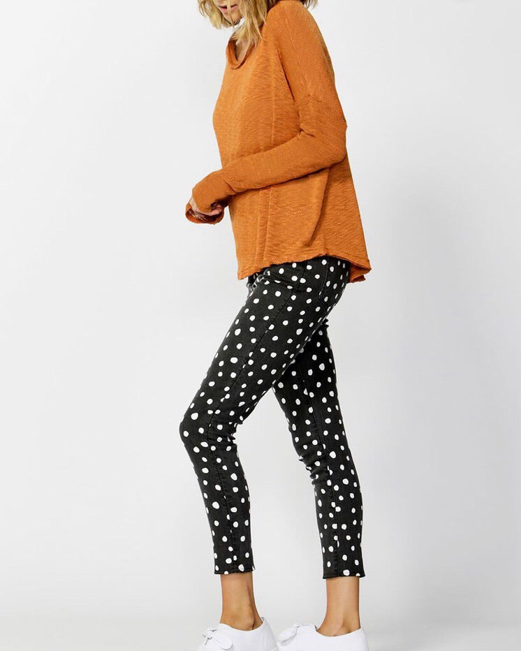Clio Knit Jumper by BETTY BASICS - Clay