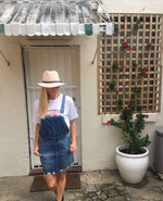 Slimline Dungaree Dress by Lee Riders