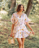 Poppy Paradise Mini Dress