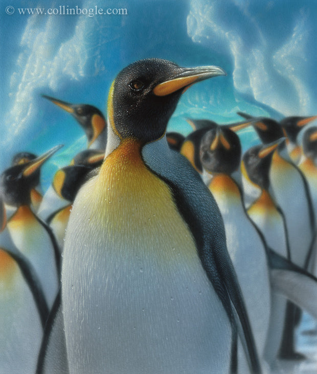 Penguin Paradise Original Painting