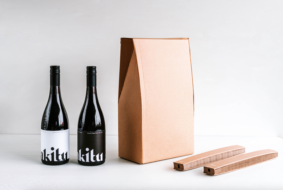 Akitu, the first wine producer in New Zealand to launch sustainable Flexi-Hex packaging via Atelier Nash