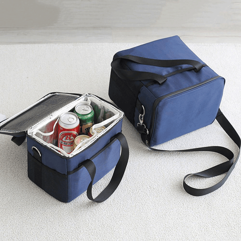 ♤【FULLY INSULATED】: Lid top dual-zipper padded main compartment with fully insulated walls and waterproof taped zipper seam keeps the food or beverage hot/cold for more than 24 hours!The insulation board of bottom, enhance the insulation effect. ♤【LARGE CAPACITY】: This insulated bag features 5 compartments to provide enough storage space: spacious main compartment with a interior mesh pocket, open-top front pocket for easy access, two side pockets to keep items visible. 5 sizes are available to choose: 10L, 18L, 28L, 37L, 47L. ♤【WATERPROOF AND LEAKPROOF】: Transparent PVC lining perfectly fits the main compartment and keeps the liquid inside and does not make your bags moist and dirty. It is detachable and easy to clean. ♤【DURABLE AND FOLDABLE】: with a waterproof Oxford cloth construction, with higher durability and toughness. The flat insert provides strong support to keep everything in the bag stable and simply separate and fold the bag for easy storage of your backpack or car trunk. ♤【CONVENIENT】: both hands with removable shoulder strap, easy to carry, outdoor picnic, school, barbecue, camping, sporting events, hiking, travel, work and other transport bags.