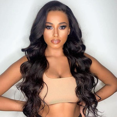 Pre Bleached Knots Best Virgin Human Hair Full Lace Wig