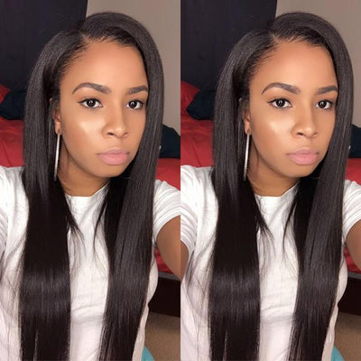 70% Off Straight U Part Wig Super Easy Human Hair Wig