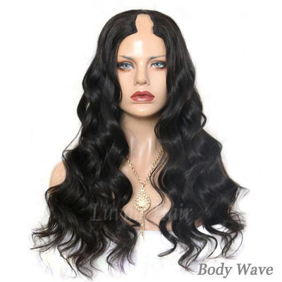 U Part Wig Super Easy Affordable Human Hair Wig