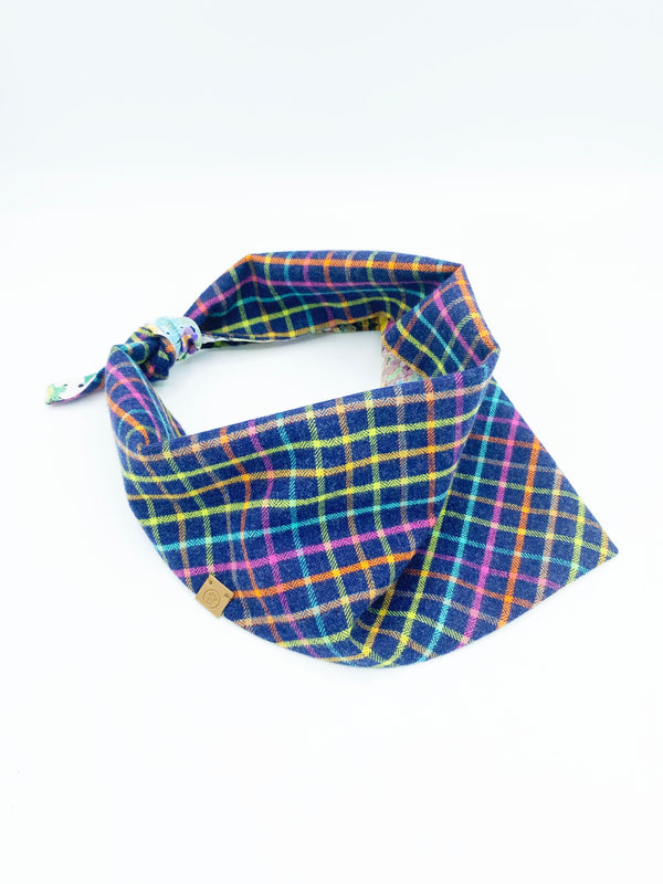 'Brett' Reversible Pet Bandana