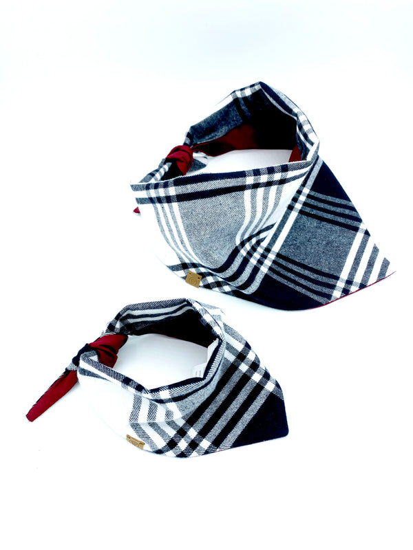 'Bobby' Reversible Pet Bandana