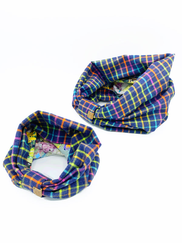 'Brett' Reversible Pet Snood
