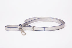 Dog Leash-Small, Metallic Ostrich