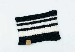 Baby Cable Cashmere Scarf, Black