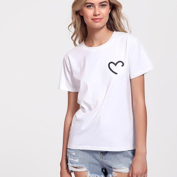 Heart On My Chest Tshirt