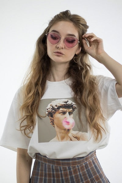 David Michelangelo Bubble Gum Tshirt