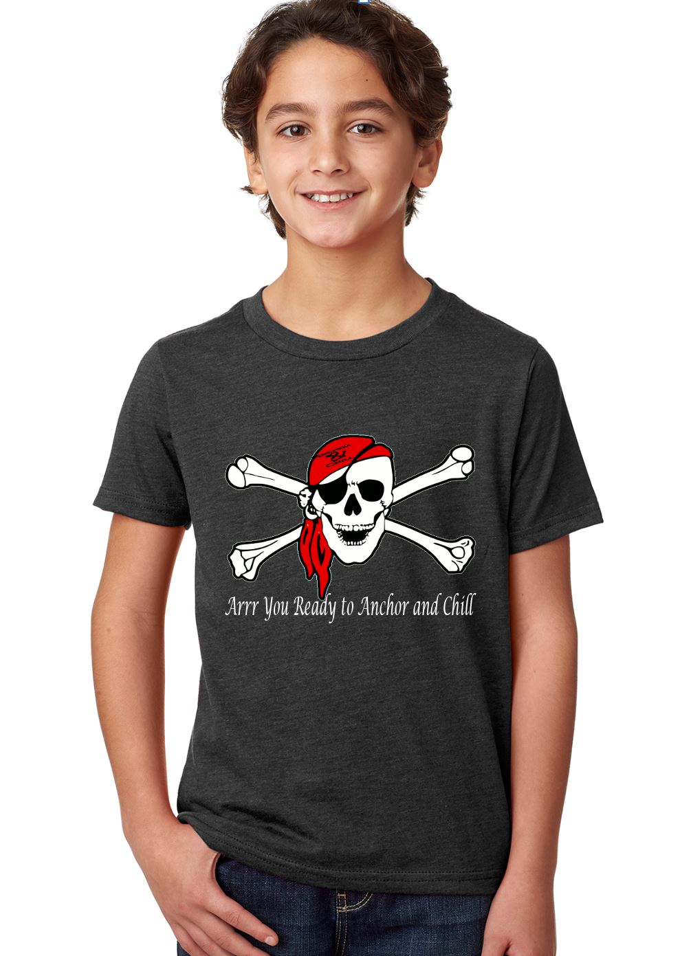 Youth Boys Pirate T-shirt