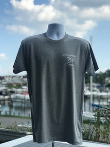 Gray Anchor & Chill Boat T-shirt