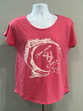 Load image into Gallery viewer, Ladies Mermaid with Bubbles T-shirt
