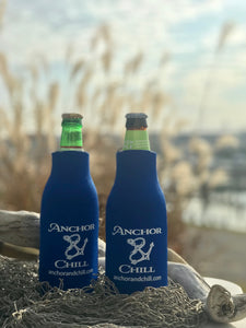 Anchor and Chill Bottle Koozie
