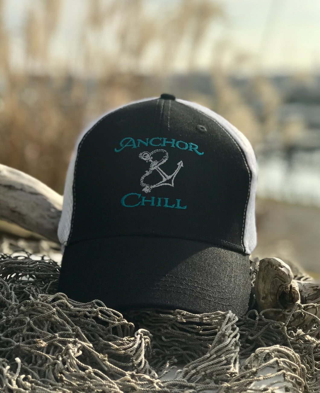Anchor & Chill Low Profile Trucker Hat