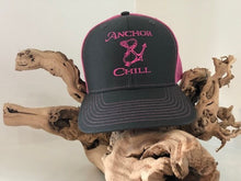 Load image into Gallery viewer, Neon Pink Trucker Hat