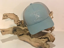 Load image into Gallery viewer, Anchor & Chill Smoke Blue Trucker Hat