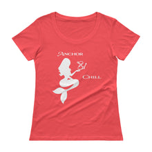 Load image into Gallery viewer, Ladies' Scoopneck Mermaid T-Shirt