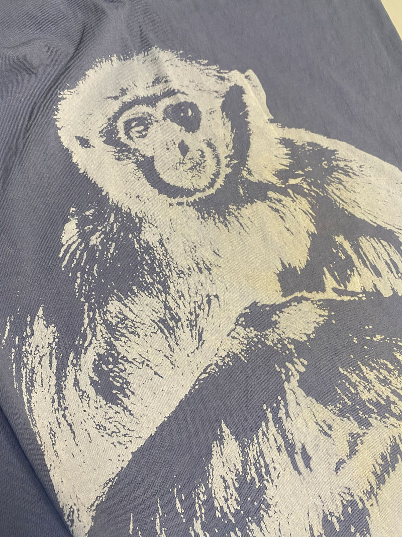 Gibbon Suede Print Tee