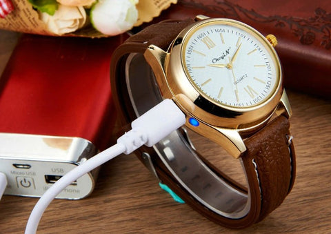 lighter watch usb