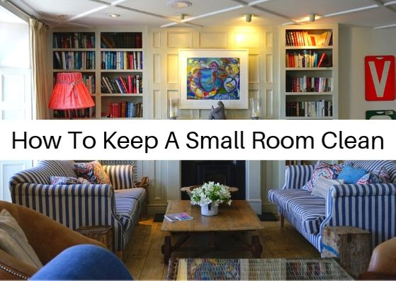 How to keep a small room clean