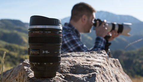 Best Camera Lens Coffee Mug for photographers 2019