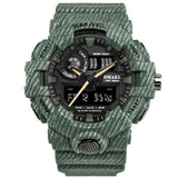 HapBest Digital Chronograph Sports Outdoor Watch for men 2019 military green