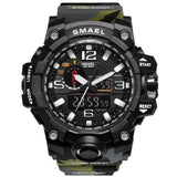 Hapyyness Army Green All In One Camouflage Military Watch®