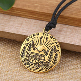 Hapyyness Gold Adventure Awaits Necklace Pendent®
