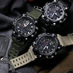 Hapyyness Gold All In 1 Camouflage Military Watch for Men