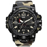 Hapyyness Military Khaki All In One Camouflage Military Watch®