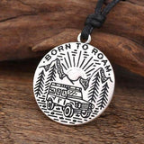 Hapyyness Adventure Awaits Necklace Pendent®