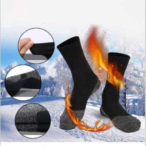 Hapyyness Super Hot Aluminized Socks