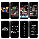 Friends Tv Show Merchandise iPhone case