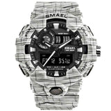 Best Digital Chronograph Sports Outdoor Watch for men 2019 white