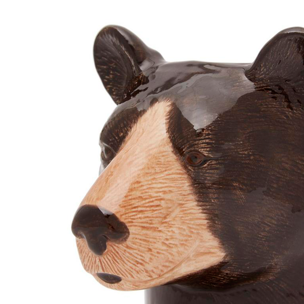 Quail Black Bear Pot