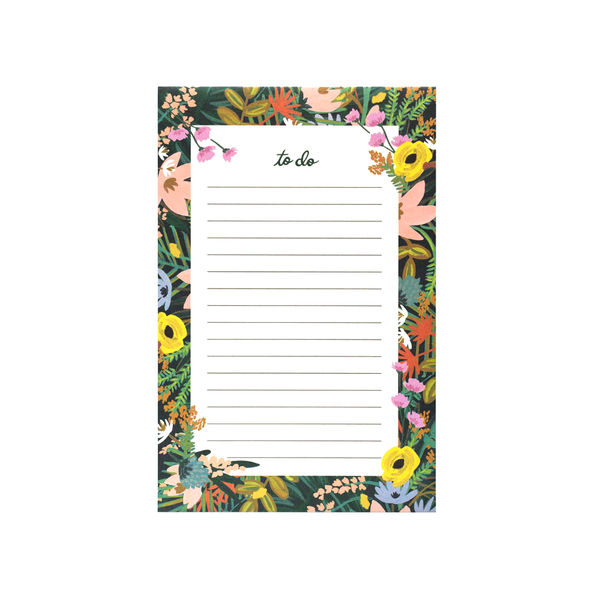Rifle Paper Co Notepad Havana
