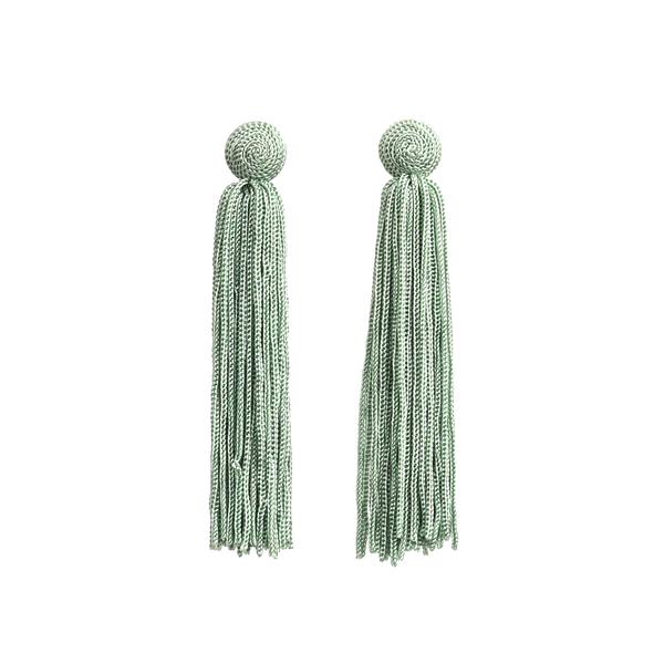 Stella + Gemma Earrings Harper Green