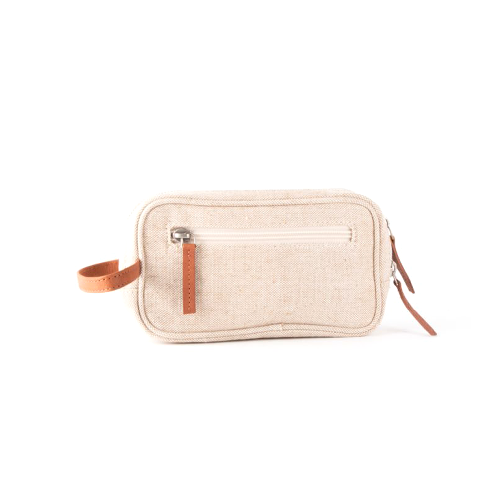Jute Travel Pouch