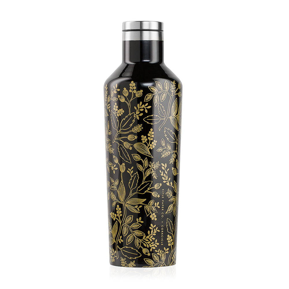 Corkcicle x Rifle Paper Co. Canteen Drink Bottle 16oz Queen Anne