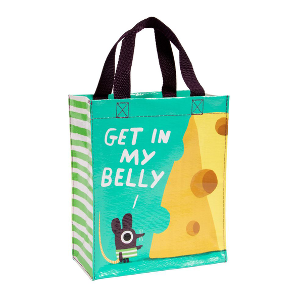 Blue Q Handy Tote Get in My Belly