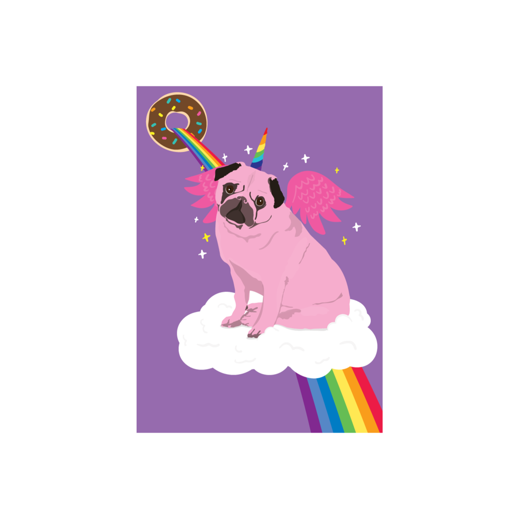 Iko Iko Kids Card Uni-Pug