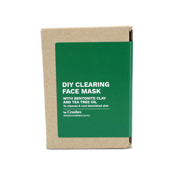 Crushes Face Mask DIY Kit Makes 5 Clearing Tea Tree