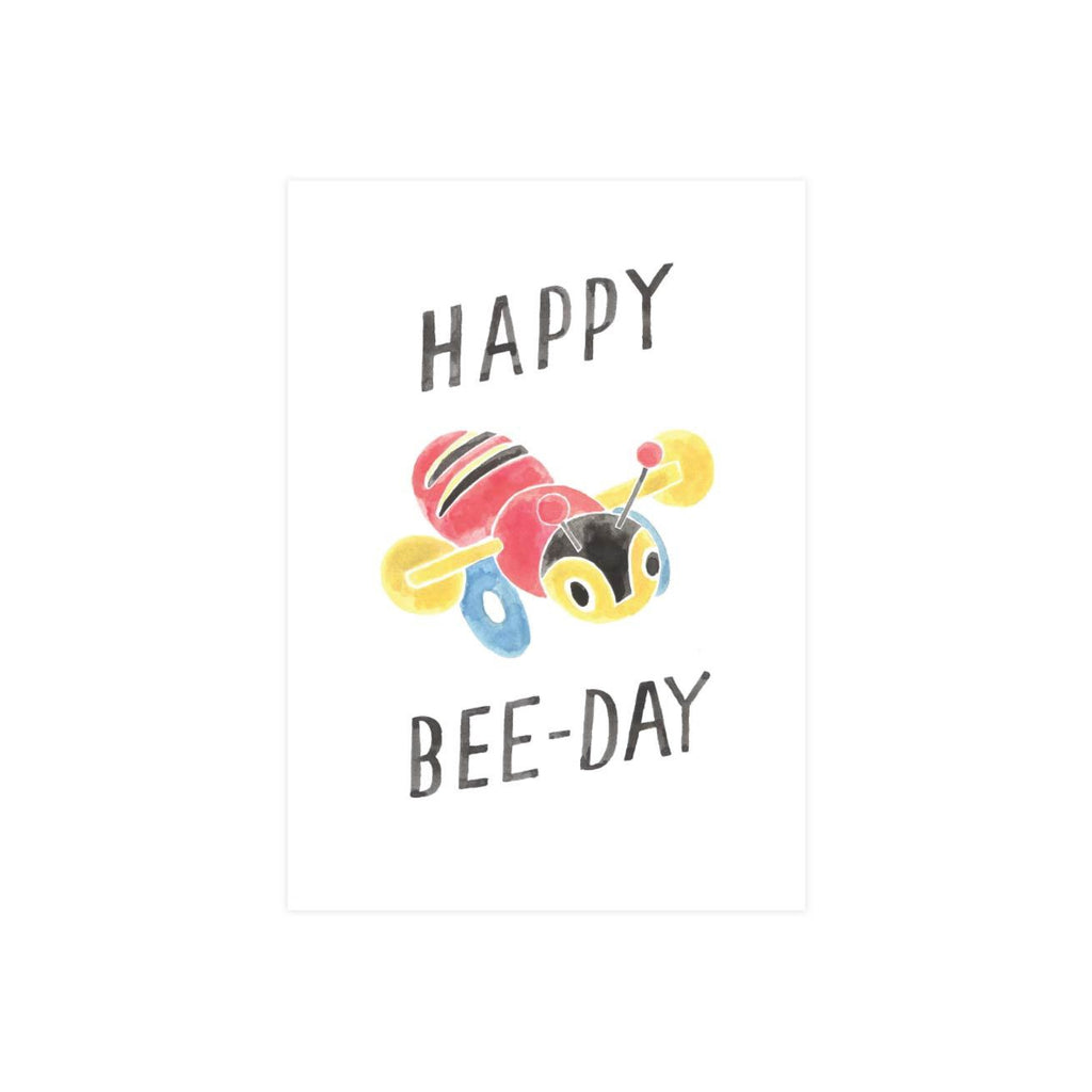 Steer Illustrations X Iko Iko Card Bee